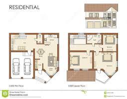 residential blueprints home plans floor free residential house cad floor plan blueprint project kenyan plans arts kenya