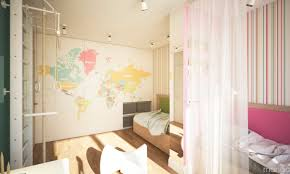 variety of girls room designs combined with colorful and cheerful
