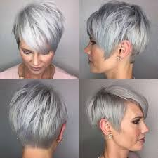 short hairstyles for seniors with grey hair short hairstyle grey hair fashion and women
