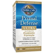 amazon com garden of life whole food probiotic supplement