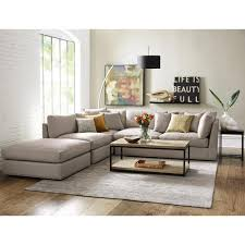 Living Room Lamps Home Depot by Home Decorators Collection Griffith Sugar Shack Putty Sectional