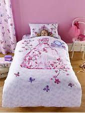 Princess Cot Bed Duvet Set Girls Princess Duvet Set Ebay