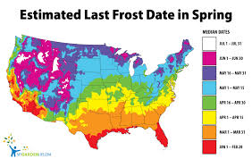 Frost Depth Map Canada by Frost Map My Blog