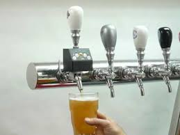 Flow Control Beer Faucet Imatic Draft Beer Portion Control Faucet Youtube