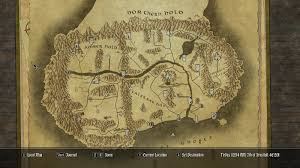 Naruto World Map by Paper World Map For Falskaar At Skyrim Nexus Mods And Community