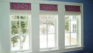 Roman Shades Valance Custom Soft Fabric Roman Shades Barrington Deer Park Il
