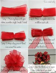 bows for diy christmas tree bow home sweet ruby