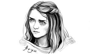 Drawing Games How To Draw Arya Stark From Games Of Thrones Youtube