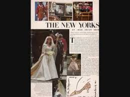 making sarah ferguson u0027s wedding dress july 1986 youtube