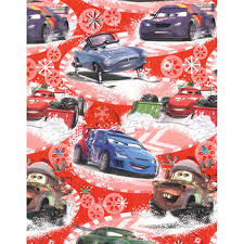 cars wrapping paper disney cars christmas gift wrap wrapping paper at the works