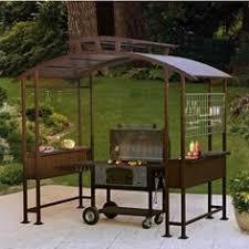 hampton bay 8 ft x 5 ft walker grill gazebo grill gazebo home