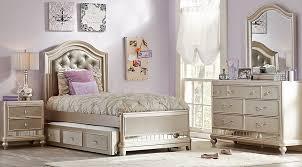 twin bed bedroom set sofia vergara petit paris chagne 6 pc twin panel bedroom teen