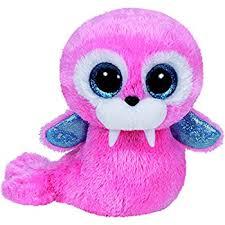 amazon ty wiggy sea lion plush grey regular toys u0026 games