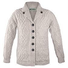 white wool sweater amazon com 100 merino wool revere button collar sweater