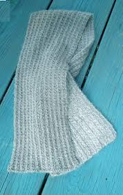 knitting pattern for angora scarf ravelry farrow rib scarf pattern by claudia krisniski