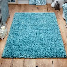 Blue Fuzzy Rug Plain Rugs U2013 Next Day Delivery Plain Rugs From Worldstores