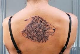 tattoo geometric outline 55 brilliant lion tattoos designs and ideas