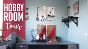 hobby room tour 10 hobbies on 6 m2 youtube