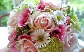 beautiful pink bouquet of spring flowers hd wallpaper
