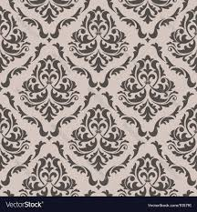 vintage halloween pattern background seamless floral pattern royalty free vector image