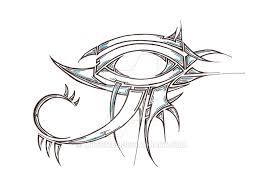 eye of ra by mrtom85 deviantart com on deviantart inked