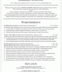sle resume administrative assistant hospital resumes for teachers cio chief information officer resume awesome office exles