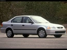 Honda Civic Lenght Honda Civic Sedan 1995 Pictures Information U0026 Specs