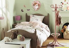 contemporary kids bedroom installed on wooden floor at vintage