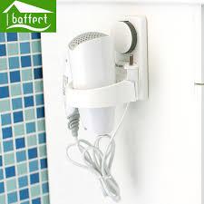 adhesive wall hooks colorful hair dryer holder wall sticky hooks bathroom self