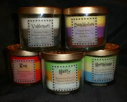 dumbledore scented 4oz candle lemon drops raspberry jam old set of 5 harry potter character scented candles i cant describe how much i want these i want dumbledore but are there marauders