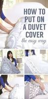 How To Dry A Duvet A Surprisingly Easy Way To Put On A Duvet Cover This Is Genius
