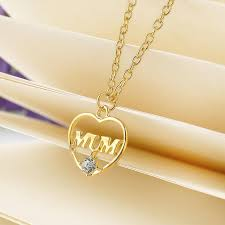 necklaces for mothers day pendant gold gift chain heart jewelry necklace mothers