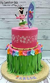 Luau Cake Decorations 21 Sizzling Summer Birthday Cake Ideas Pretty My Party