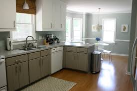 Gray Walls With White Trim by Inspiring Kitchen Wall Trim Come With Blue Wall Paint Color And