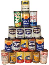 country store cleanser cans 19 pcs old dutch lighthouse