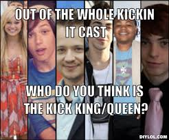 Queen Meme Generator - image ki cast meme generator out of the whole kickin it cast who