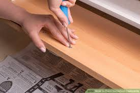 how to paint over varnished cabinets how to paint varnished cupboards 6 steps with pictures