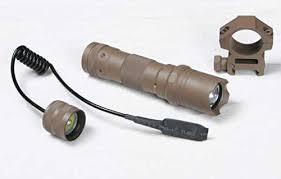 tac light flash light ultimate arms gear fde flat dark earth tan flashlight tactical light
