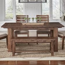 loon peak extendable dining table loon peak johnston trestle extendable dining table reviews wayfair