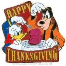 your wdw store disney happy thanksgiving pin 2008 donald and goofy