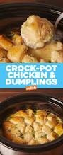easy crock pot chicken and dumplings recipe best homemade crock