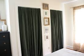 simple glazed blur metal framing with room divider curtains also f