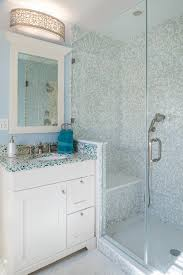 Blue Glass Bathroom Accessories 4 Glass Bathroom Countertops With Color And Character Steven