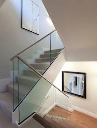 Glass Banisters Domestic Staircase With Glass Balustrade Andy Marshall
