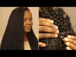 best way to sew in a weave for long hair how to put in a sew in weave on yourself most natural looking