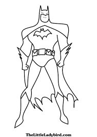 batman coloring page coloringeast com