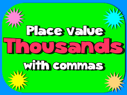 place value song to the thousands youtube