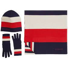 Tommy Hilfiger Flag Tommy Hilfiger Accessoire Essential Scarf U0026 Beanie Giftpack