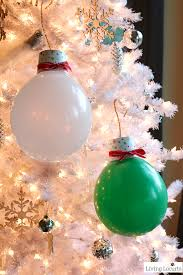 these balloon ornaments will light up your