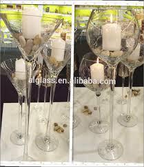 Glass Vase Centerpiece Maxa Giant Wine Glass Vase Home Design Ideas